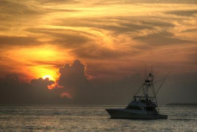 Key West Sport Fisher Sunset by Robert Goldwitz