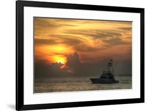 Key West Sport Fisher Sunset by Robert Goldwitz