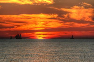 Key West Sunset XVI by Robert Goldwitz