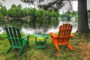 Lakeside Chairs by Robert Goldwitz