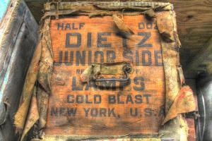 Old Shipping Box. by Robert Goldwitz