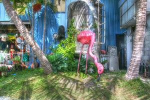 Pink Flamingo by Robert Goldwitz