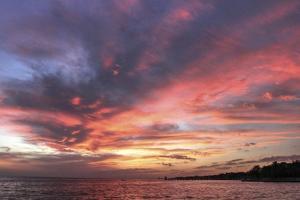 Red Sunset 1 by Robert Goldwitz