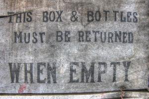 Return When Empty Box by Robert Goldwitz