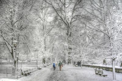 Riverside Park snow walk by Robert Goldwitz