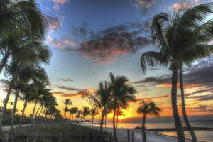 Smathers Beach Sunrise 1 by Robert Goldwitz
