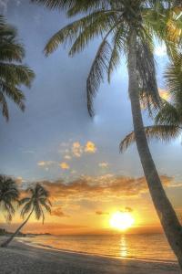 Smathers Beach Sunrise Vertical 3 by Robert Goldwitz