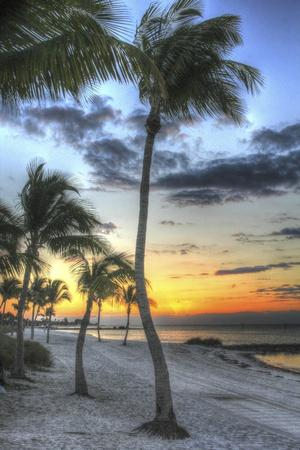 Smathers Beach Sunrise Vertical