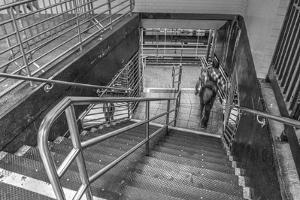 Subway Stairs by Robert Goldwitz