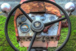 Tractor Seat 1 by Robert Goldwitz