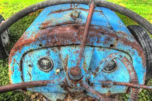 Tractor Seat 2 by Robert Goldwitz