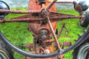Tractor Seat 3 by Robert Goldwitz