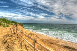 Truro Breach and Fence by Robert Goldwitz