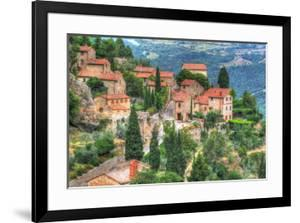 Tuscan Hilltop Town by Robert Goldwitz