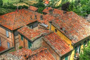 Tuscan Roofs by Robert Goldwitz