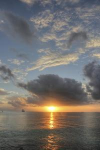Vertical Sunset 1 by Robert Goldwitz