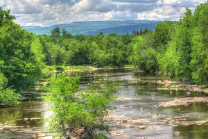 Wallkill Bridge Mountain View by Robert Goldwitz