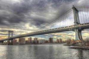 Williamsburg Bridge by Robert Goldwitz