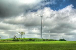 Wind Turbines Tug Hill Plateau by Robert Goldwitz