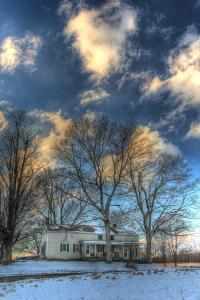 Winter Home Vertical by Robert Goldwitz