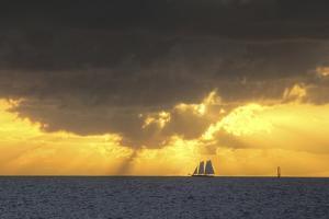 Yellow Sunset by Robert Goldwitz