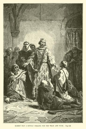 Robert Had a Kindly Feeling for the Weak and Poor--Giclee Print