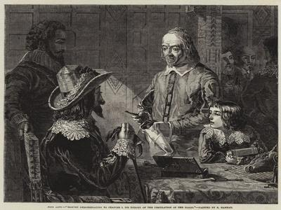 Harvey Demonstrating to Charles I His Theory of the Circulation of the Blood