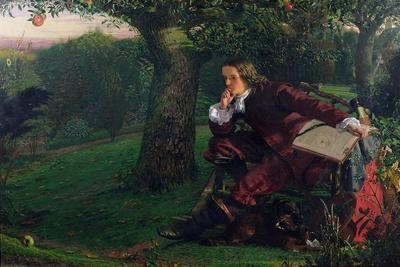 Master Isaac Newton, 1905 (oil on canvas)