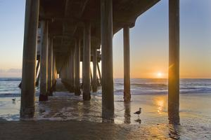 Huntington Beach Pier 6 by Robert Hansen
