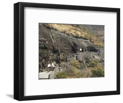 Ajanta Cave Complex, Maharastra, India
