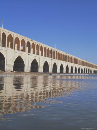 Allahverdi Khan Bridge River, Isfahan, Middle East by Robert Harding