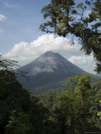 Arenal Volcano from the Sky Tram, Costa Rica
