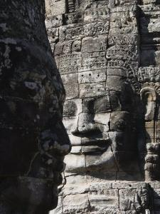 Bayon Temple, Late 12th Century, Buddhist, Angkor Thom, Angkor, Siem Reap, Cambodia, Southeast Asia by Robert Harding