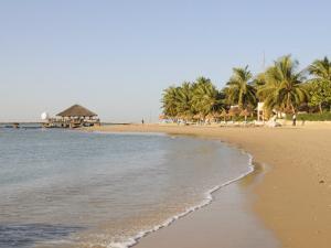 Beach at Saly, Senegal, West Africa, Africa by Robert Harding