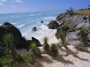 Beach on South Coast, Bermuda, Central America by Robert Harding