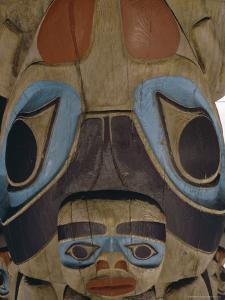 Close up of Carvings, Thunderbird Park, Victoria, British Columbia (B.C.), Canada, North America by Robert Harding