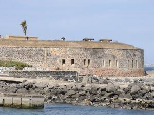 D'Estrees Fort Now a Museum of Slavery, Goree Island, Near Dakar, Senegal, West Africa by Robert Harding