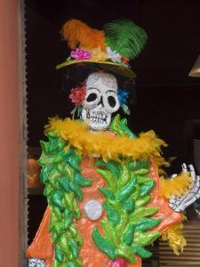 Day of the Dead Decoration, Oaxaca City, Oaxaca, Mexico, North America by Robert Harding