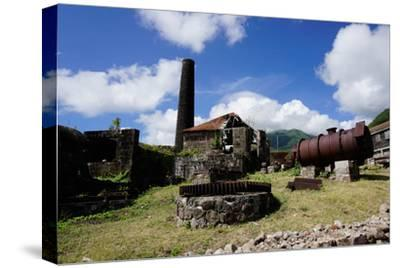 Derelict Old Sugar Mill, Nevis, St. Kitts and Nevis
