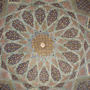 Detail of Interior of the Tomb of the Persian Poet Hafiz, Shiraz, Iran, Middle East by Robert Harding