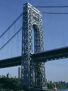 George Washington Bridge, New York, USA by Robert Harding
