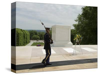 Guard at the Tomb of the Unknown Soldier, Arlington National Cemetery, Arlington, Virginia, USA