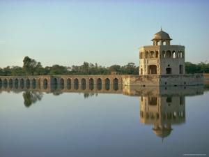 Hiran Minar, 43KM from Lahore, Punjab, Pakistan, Asia by Robert Harding
