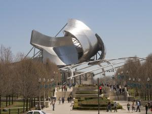Jay Pritzker Pavilion Designed by Frank Gehry, Millennium Park, Chicago, Illinois by Robert Harding