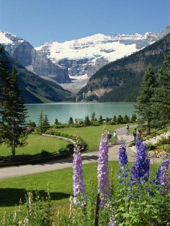 Lake Louise, Banff National Park, UNESCO World Heritage Site, Rocky Mountains, Alberta, Canada