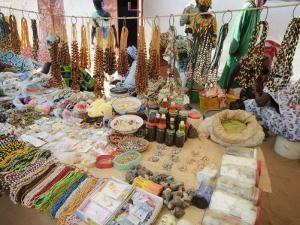 Market at Ngueniene, Near Mbour, Senegal, West Africa, Africa by Robert Harding