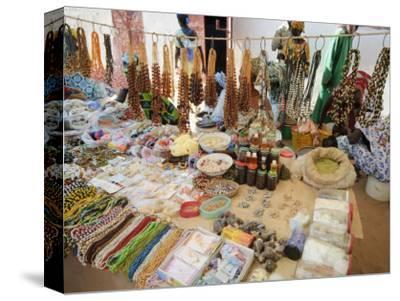 Market at Ngueniene, Near Mbour, Senegal, West Africa, Africa