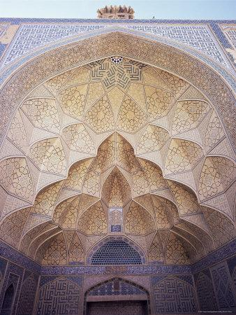 Masjid-I-Jami (Friday Mosque), Isfahan, Iran, Middle East