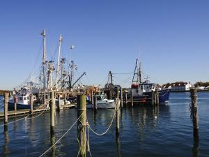 Montauk Harbour, Montauk, Long Island, New York State, United States of America, North America by Robert Harding