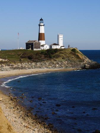 Montauk Point Lighthouse, Montauk, Long Island, New York State, USA